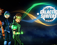 Galactic Surfers: Motion Capture Video Game
