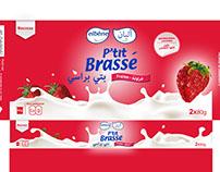 """Packaging """"P'tit Brassé"""""""