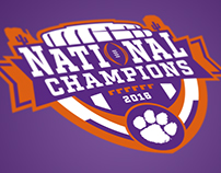 Clemson National Championship - Concept