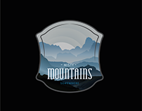 Badge designs created for the Outdoor Badge Challenge
