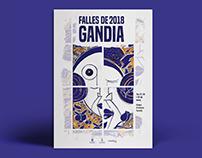 PROPUESTA CARTEL FALLAS GANDIA