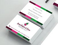 Nutricionista Bruna de Souza - Identidade Visual