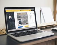 BookPostr UI - WebApp Redesign
