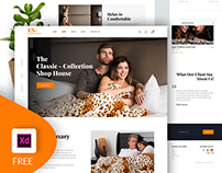 Freebie - Ecommerce Website Design (XD)
