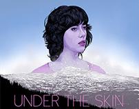 """""""Under The Skin"""" Movie Poster"""