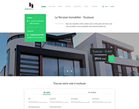 Real Estate Website Design | UX/UI
