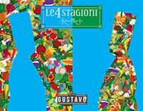 LE 4 STAGIONI BY RAFFAELE MANCINI per GUSTAVO