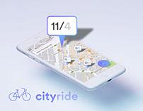 CityRide – Multi Device UI Concept