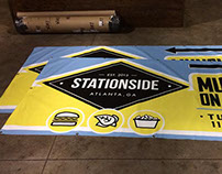 Stationside - Restaurant Billboard + Signage