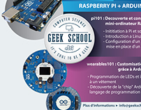 Geekschool Banner/Flyer