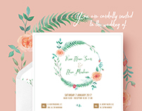 Kun & Reza Wedding Invitation