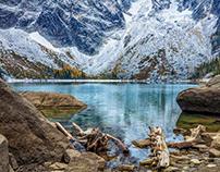 THE ENCHANTMENTS -- Colchuck Lake