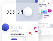 OPER - Design Agency Website