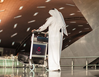 Hamad International Airport Qatar Rebrand