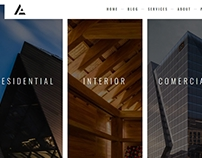 Creative architecture & interior design WordPress Theme