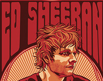 Ed Sheehan 2015 Tour Poster & Merchandise
