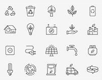 Ecology Vector Icons Part 2