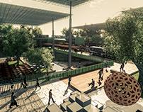 Estación de transferencia Intermodal. Maracaibo.