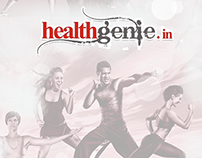Healthgenie Android native app UX design.