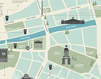 Infografia - Mapa de Dublin