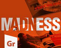 Madness mag - Couverture d'un magazine