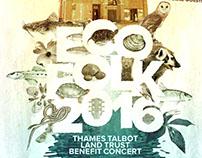 ECOFOLK 2016 - Thames Talbot Land Trust Benefit Poster