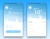 Practice Redesign : Android Alarm App