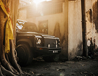 Land Rover Defender in Georgetown, Penang