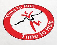 London Marathon Time To Run Logo for Time to Help