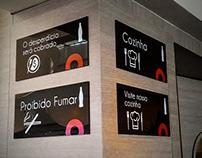 Solare Restaurante / Sinalização