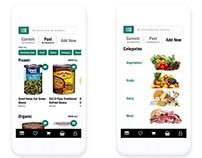 Cooking & Grocery App UI
