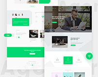 Agency Free Psd Template