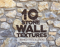 Stone Wall Textures x10