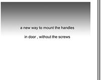New handle fixation