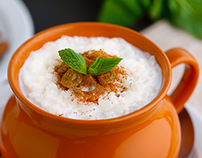 Rice Pudding - food photography