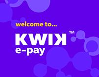 Kwik e-pay app
