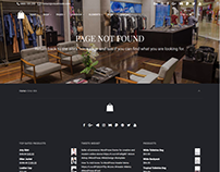 404 Page Template - Seller WordPress Theme