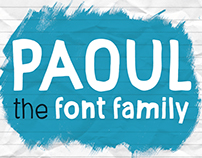 Paoul - The Headliner; Font Family