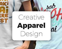 Creative Apparel Design | Pack 2
