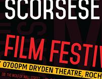 Martin Scorsese Film Festival 2016 Poster