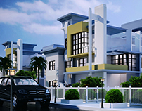 Villa design consist of  2 Floors