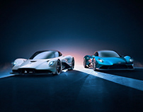Aston Martin Vanquish & AM-RB 003