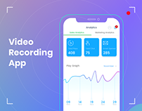 Video Recording App UI