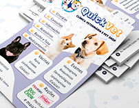 Flyer - QuickVet Clínica Veterinária e Pet Shop
