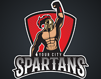 Free Human Characters Sports Logo Vectors