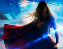 Supergirl- Screen Graphics