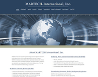 Web Re-Design & Hosting -  MARTECH-International, Inc.