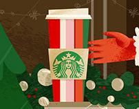The best present for Santa (Starbucks)
