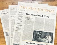Imperial Journal – Newspaper Design