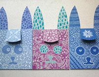 Envelopes - animals